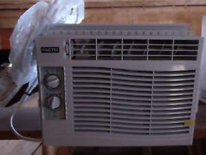 Two 5,000 BTU Window A/C Units For Sale