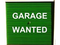 WANTED Garage/Storage unit