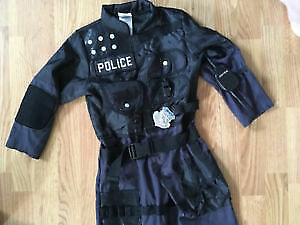 Police Costume from Costco in Excellent Condition