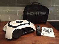 Optoma Movietime DV10 Home Cinema PC DLP Projector Speakers/DVD Player Inbuilt