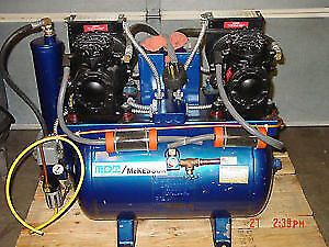 MDT Mckesson Dental air compressor used refurbished equipment