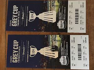 2016 Grey Cup Tickets - 2 Tickets, $300 each Oakville / Halton Region Toronto (GTA) image 1