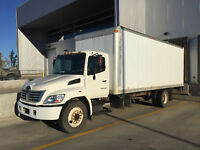 18' Box Truck and Driver for hire