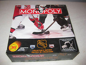 NHL collectors edition monopoly sealed never opened