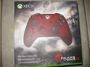 New XBox 1 Wireless Controller Gears of Wars 4 Edition