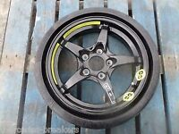 space saver wheel with new tyre never used 112x 5 pcd vw- merc- seat will fit others