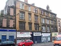 Traditional 2 bedroom 2nd floor flat In Paisley City Centre Moss Street Available 1st January 2018