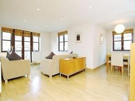 Spacious and bright 2 bed apartment in Wapping, available NOW
