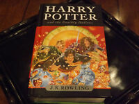 HARRY POTTER BOOKS for 15.00 GET A FREE GUINNESS BOOK 2005 COLL