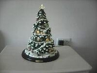 Village Illuminated Christmas Tree