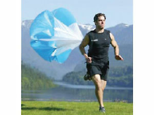 Nike Sparq &Twist Condition speed/sprint training parachutes.