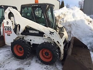 2009 BOBCAT S185 SKID STEER LOADER-CAB WITH HEAT AND A/C