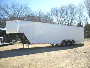 2014 Cargo / Car hauler Gooseneck  / Fifth Wheel Utility Trailer