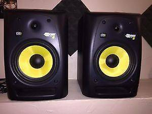KRK ROKIT 8s X 2. Barely Used - $600 ONO Oakleigh Monash Area Preview