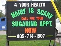 BODY SUGARING FOR MEN AND WOMEN HAIR REMOVAL WELLAND/FONTHILL