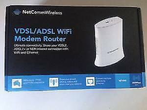 NETCOMM NF10W - VDSL / ADSL WiFi Modem Router