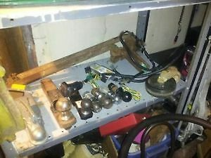 trailer hitch balls,inserts,wiring etc