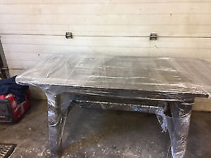 Custom made Spruce Kitchen Table