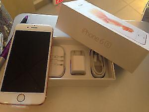 Unlocked Gold iPhone 6S 64gb...Trade