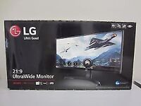 LG 34UM68 Monitor.