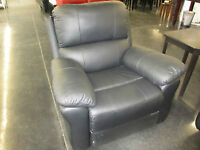 NEW LEATHER RECLINING CHAIR $700