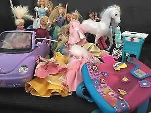 A big lot of barbie sets. AVAILABLE