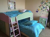 VERY SWEET CUSTOM MADE UNIQUE BUNK BEDS