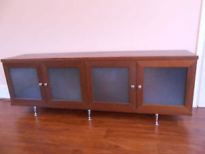 Dresser with glass doors perfect quality