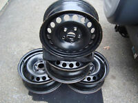 "4 new 16"" inch rims for 2012 Toyota Matrix and 15"" inch Mazda 3"