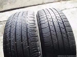 285/35R18Michelin Pilot Sport A/S2 All Season 2 used tires, 75% tread left, Free Installation&Balance