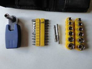 Ratcheting Socket Wrench and Screw Driver Set London Ontario image 1