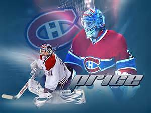 Montreal Canadien pair of tickets in section 310 white