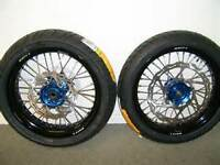 Wanted Supermoto tires for Husqvarna TE630