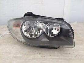 BMW 1 series E87 genuine BMW headlights set headlamps