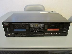 Cassette Deck  JVC MODEL TD-W20 Stereo DOUBLE DECK