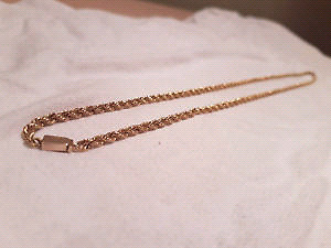 Chaine Torsade Or 14 k