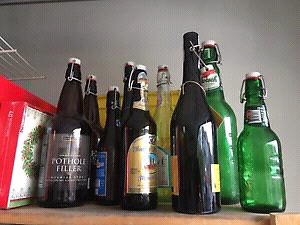 Need resealable beer & open wine bottles for home brew!!