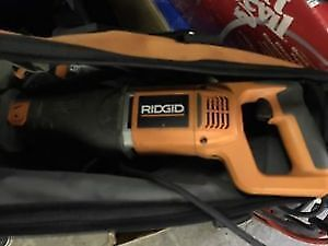 Ridgid Reciprocating Saw
