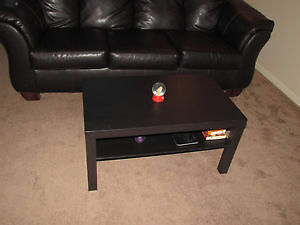 Nearly new black coffee table (<6 months old!)
