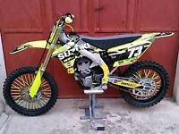 SUZUKI RMZ 450 ##HIGHLY MODIFIED £££SPENT## BE QUICK