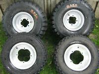 yamaha wheels (rims and tires) Fits raptor, warrior, banchee