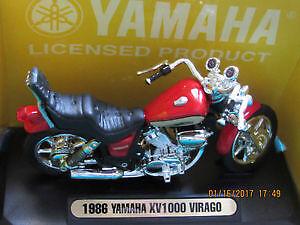 Scale 1:18 Yamaha Virago diecast motorcycle model