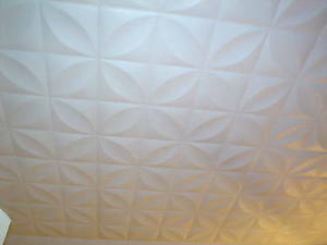 How to Install Glue Up Ceiling Tiles