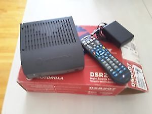 Recepteur satellite de Motorola Star Choice DRS207