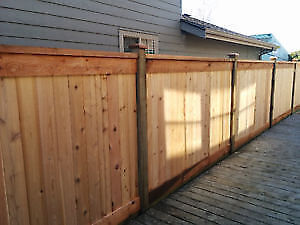 Fence and Deck Repairs/New Installation