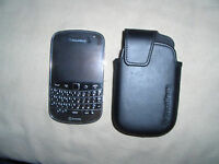 Blackberry 9900 mint condition Black Unlocked $120 (obo)