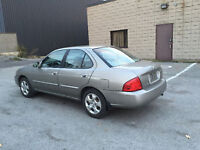 2004 NISSAN SENTRA AUTOMATIQUE AIR CLIMATISE, MAGS