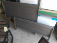 BRAND NEW... Solid wood double wide dresser and mirror with a Do