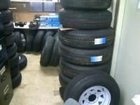New Trailer Tires On Rims Start At $75 - Many Trailer Parts