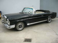 WANTED: 1963 Mercedes Benz 220 SE Convertible